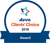 Avvo Client Choice Award 2016