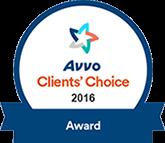 Avvo Client Choice Award 2016