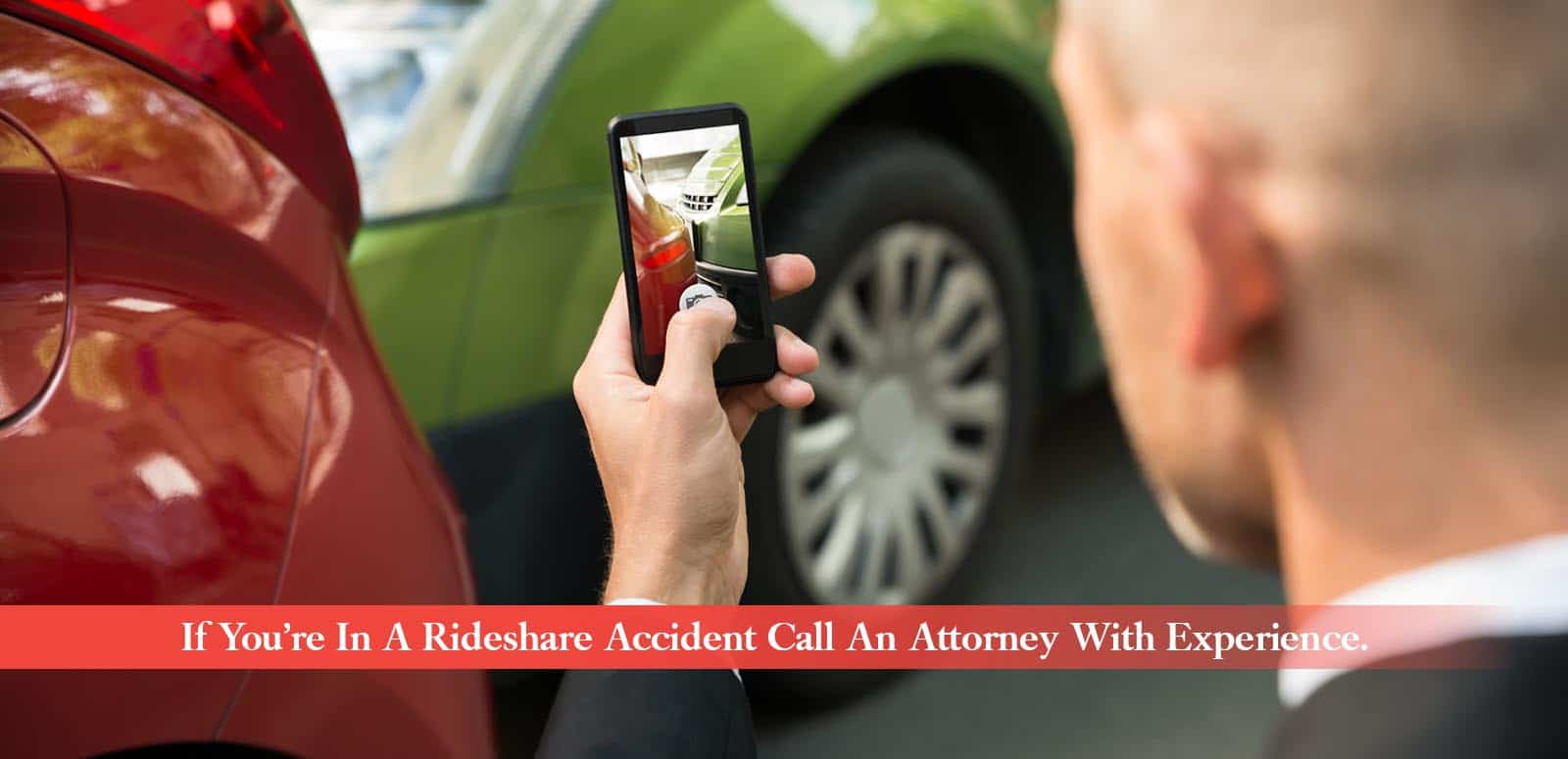 If you're in a rideshare accident Call An Attorney With Experience.